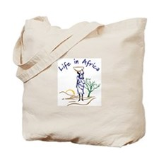 Life in Africa Tote Bag