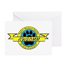 AWSOMM LOGO Greeting Cards (Pk of 10)