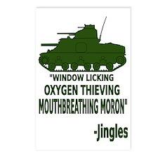 Window Licker Postcards (Package of 8)