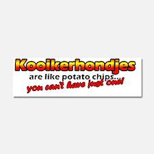 potatochips_kooiker Car Magnet 10 x 3