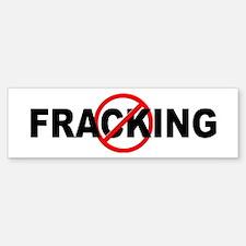 Anti / No Fracking Sticker (Bumper)