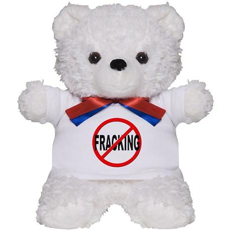 Anti / No Fracking Teddy Bear