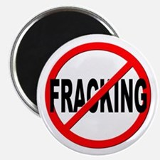 "Anti / No Fracking 2.25"" Magnet (10 pack)"
