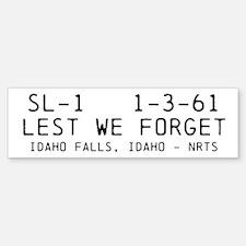 SL-1 - Lest we forget