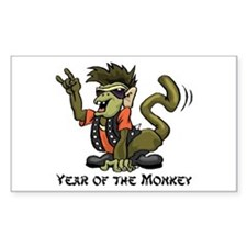 Funny Year of The Monkey Decal