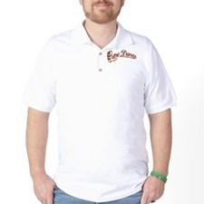 ld script boot WOOD.jpg T-Shirt