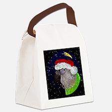 christmasnight_senegal Canvas Lunch Bag