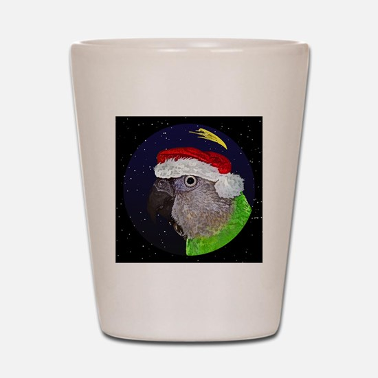 christmasnight_senegal Shot Glass