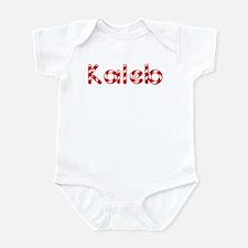 Kaleb - Candy Cane Infant Bodysuit