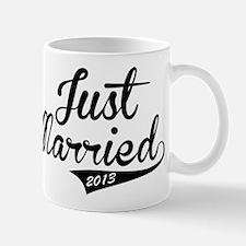 Just Married 2013 Mug