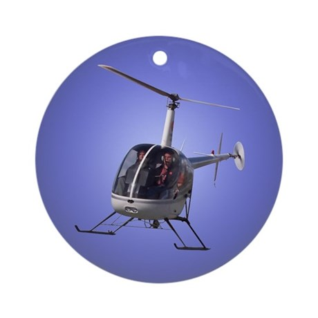 Helicopter Ornament keepsakes Trinkets Gifts