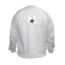 Helicopter Kid's Sweatshirt Cool Gifts