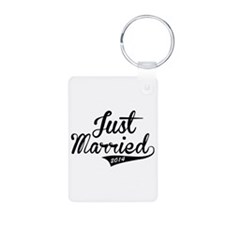 Just Married 2014 Keychains