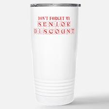 senior-discount-KON-RED Travel Mug