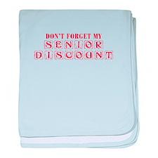 senior-discount-KON-RED baby blanket