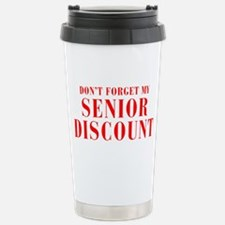 senior-discount-bod-red Travel Mug