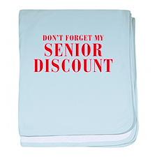 senior-discount-bod-red baby blanket