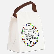 ds_redbone Canvas Lunch Bag