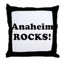 Anaheim Rocks! Throw Pillow