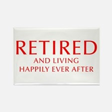 retired-and-living-happily-OPT-RED Rectangle Magne