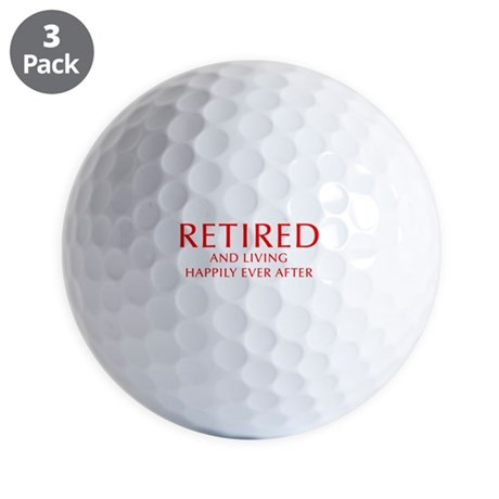 Retired Golf Ball
