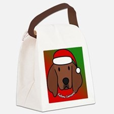 redbone_anime_ornament Canvas Lunch Bag