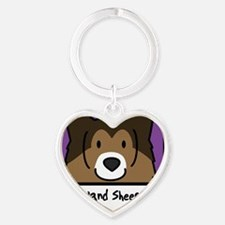anime_sheltie Heart Keychain