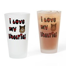 generic_sheltie Drinking Glass