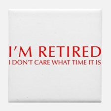 Im-retired-OPT-RED Tile Coaster