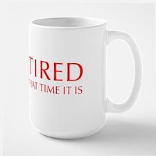 Im-retired-OPT-RED Mug