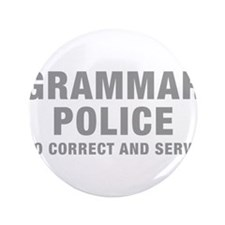 "grammar-police-hel-gray 3.5"" Button (100 pack)"