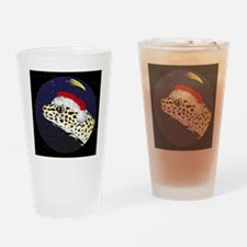 christmasnight_leopardgecko Drinking Glass