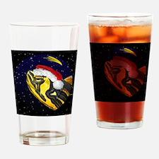christmasnight_yellowbelliedslider Drinking Glass