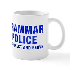 grammar-police-hel-blue Mug