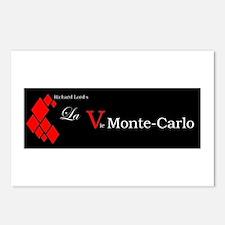 La Vie Monte-Carlo (dark) Postcards (Package of 8)