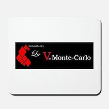 La Vie Monte-Carlo (dark) Mousepad