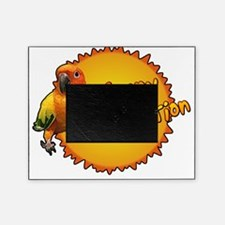 sunconure_sunnydisposition_blk Picture Frame