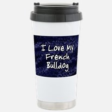 funklove_oval_frenchbulldog Stainless Steel Travel