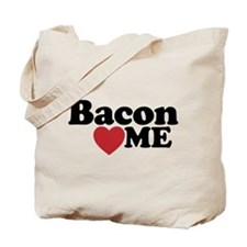 Bacon Loves ME Tote Bag
