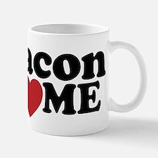 Bacon Loves ME Small Small Mug
