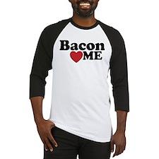 Bacon Loves ME Baseball Jersey