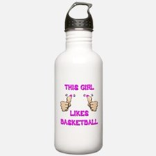 This Girl Likes Basketball Water Bottle