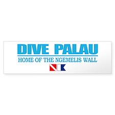 Dive Palau Bumper Car Sticker