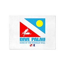 Dive Palau 5'x7'Area Rug