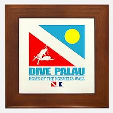 Dive Palau Framed Tile