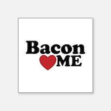 Bacon Loves ME Sticker