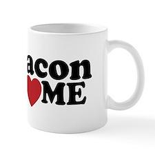 Bacon Loves ME Small Mug