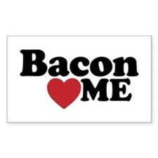 Bacon Loves ME Decal