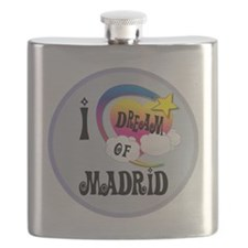 I Dream of Madrid Flask