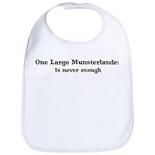 One Large Munsterlander Bib